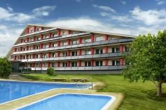 Česko: horský hotel