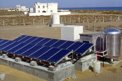 Omán: solární příprava pitné vody