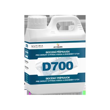 D700: Biocidní přípravek pro okruhy s pitnou vodou a zásobníky s TUV
